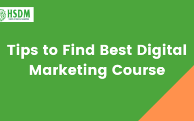 9 Amazing Tips to Find Best Digital Marketing Course